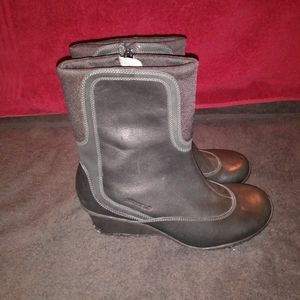 Merrell Wisteria Womens Sz 7.5/38 Leather Boots